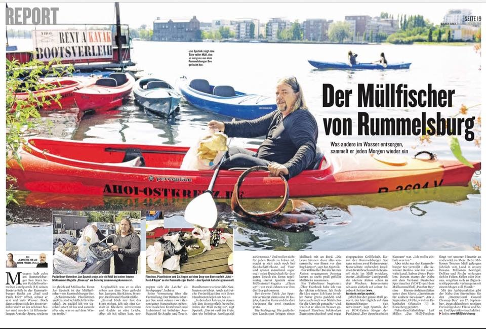 Clean Up Regatta - Berliner Kurier - 25.08.2016