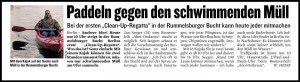 Clean Up Regatta - Berliner Kurier, 26.05.2015